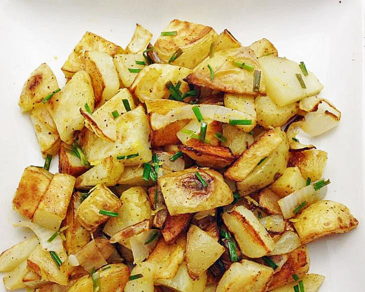 Lemon Chive Potatoes