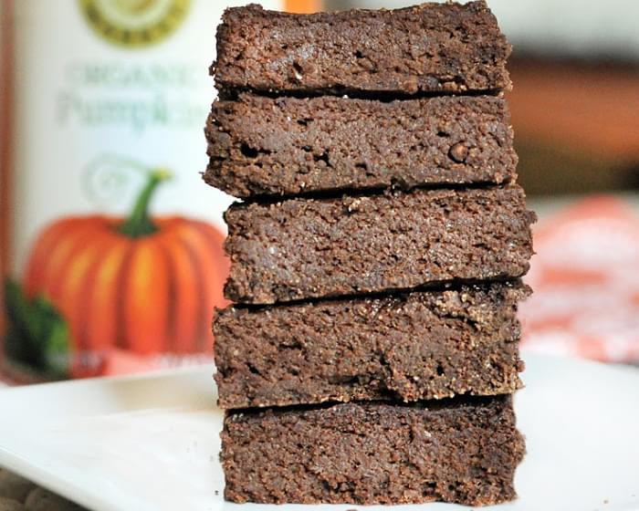 Chocolate Pumpkin Pie Brownies
