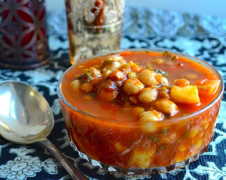 Meatless Monday - Moroccan Style Vegetable Soup (