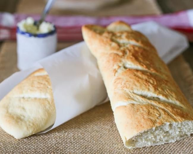 HOMEMADE FRENCH STYLE BAGUETTES