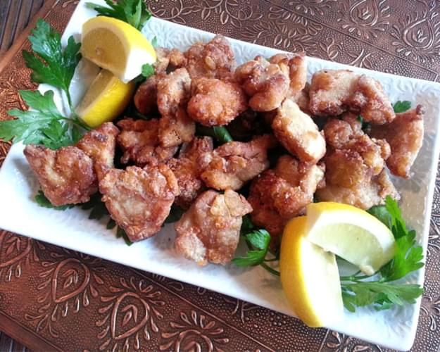 Japanese Fried Chicken – Chicken Karaage ( とり からあげ)