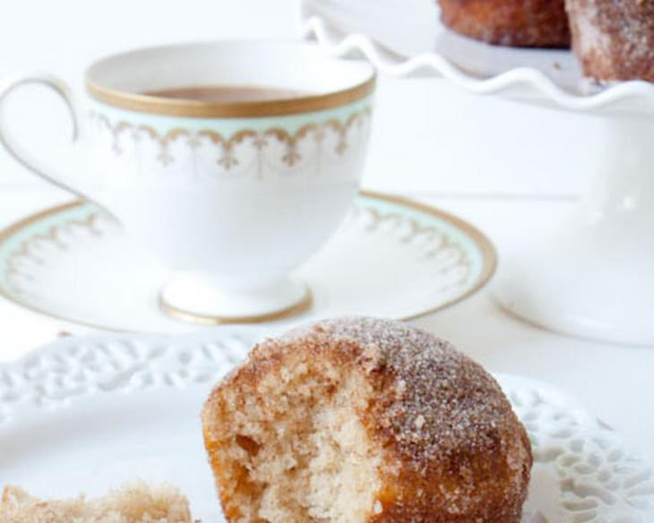 Cinnamon-Sugar Crusted Coffee Cake Muffins Recipe