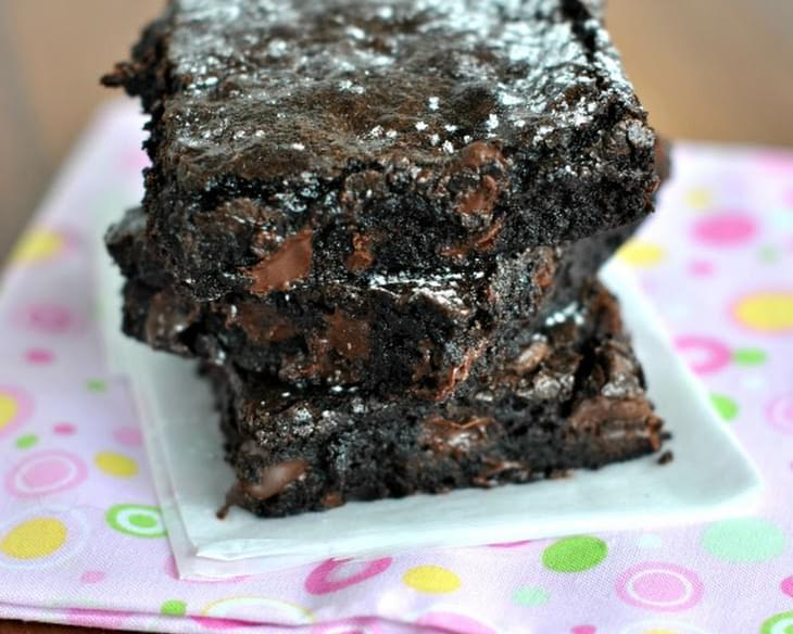 A Perfect Dark Chocolate Brownie