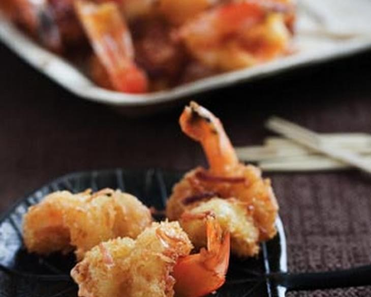 Coconut Shrimp with Sweet Chili Mayo