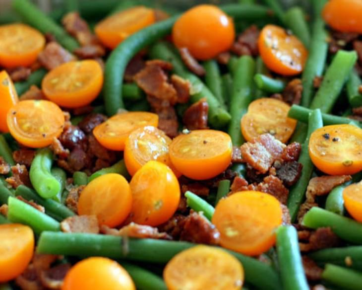 Bacon and Green Bean Salad