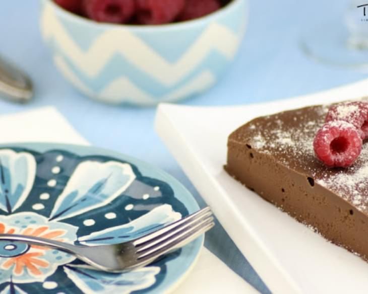 Raw Chocolate Cream Pie