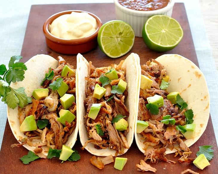 Quick Pork Carnitas Tacos