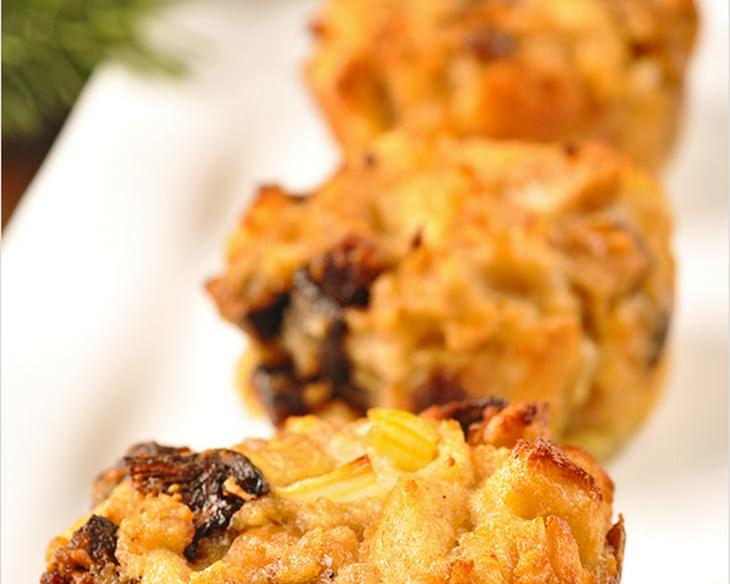 Fig and Chestnut Stuffing Muffins