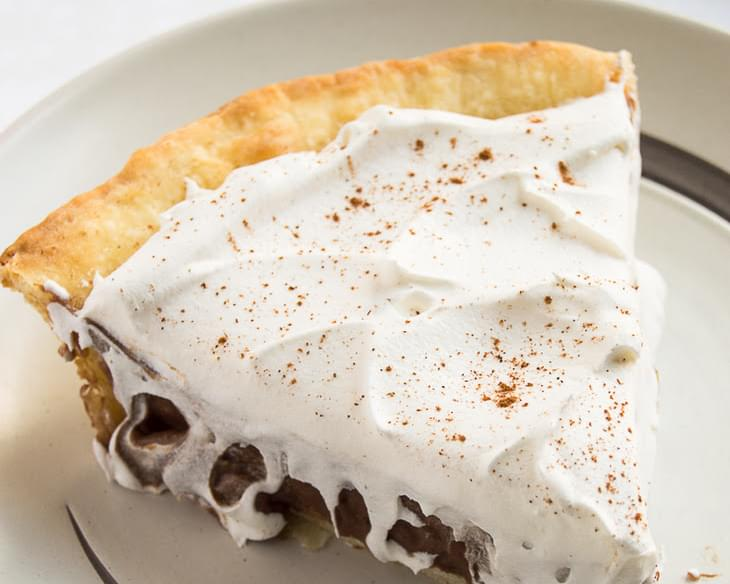 Chocolate Chai Cream Pie