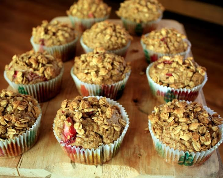 Strawberry Granola Muffins Recipe