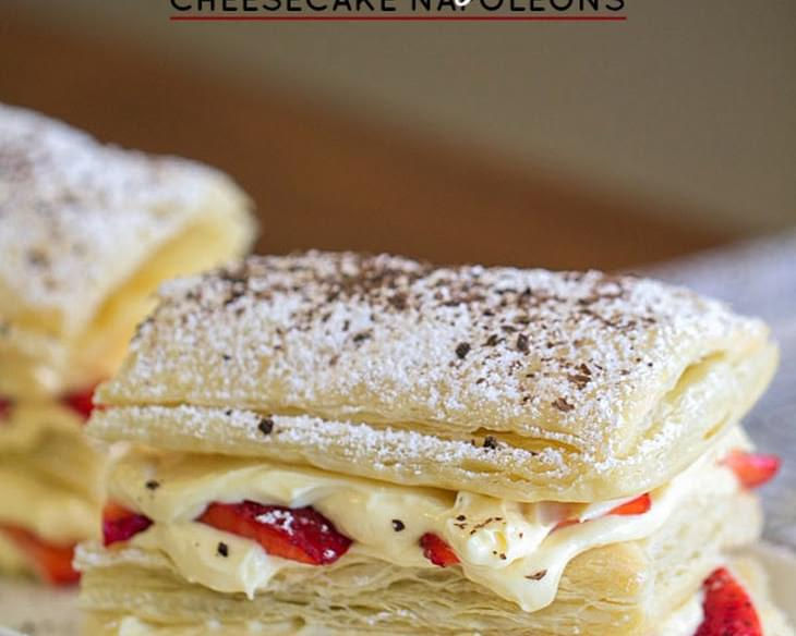 Strawberry Cheesecake Napoleon