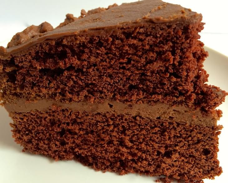 The Best Vegan Chocolate Cake