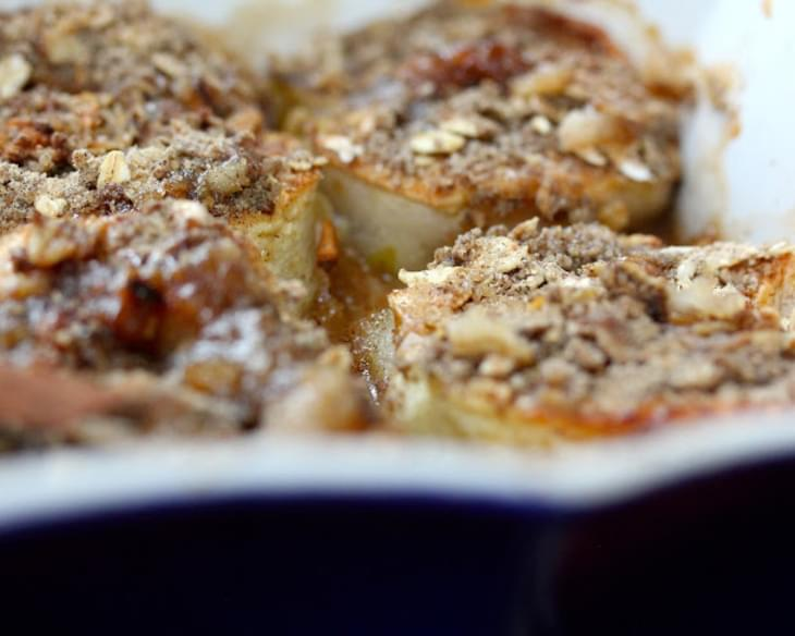 Baked Apples With Buckwheat-oatmeal Crumble