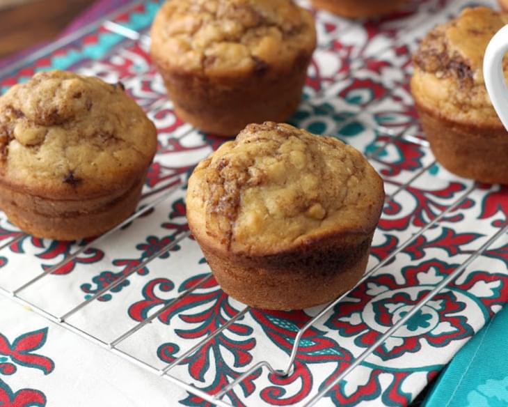 Cinnamon Maple Pancake Muffins