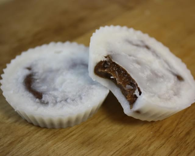 A Dream Come True! Coconut Chocolate Date Cups