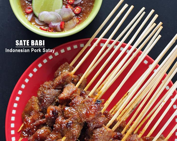 Sate Babi - Indonesian Pork Satay