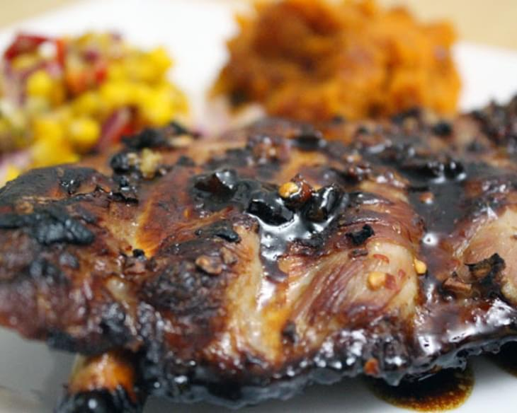 Sweet Honey And Soy Pork Ribs