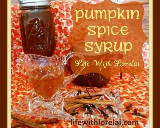 Pumpkin Spice Syrup - Improved