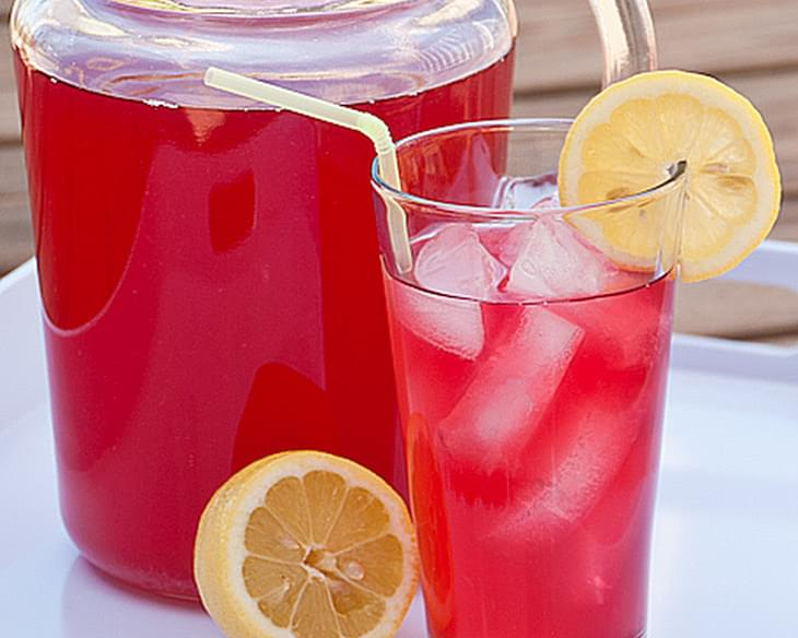 Kids in the Kitchen - Cranberry Lemonade Punch