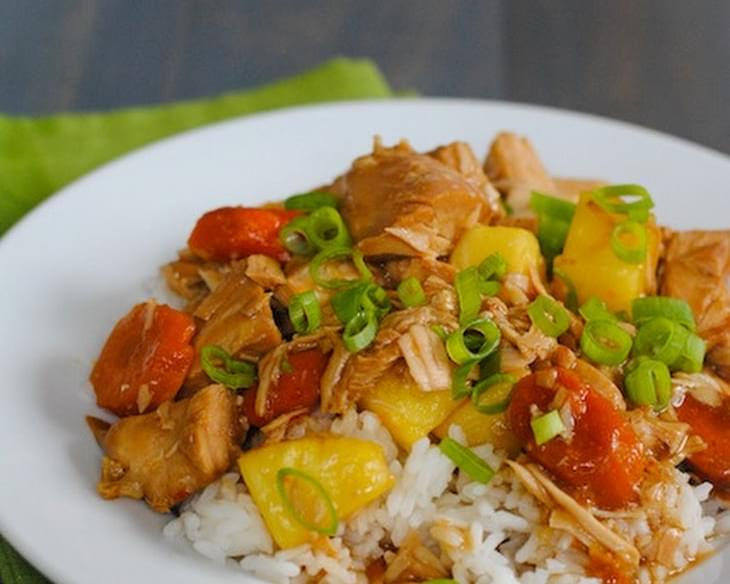 Crock Pot Teriyaki Turkey
