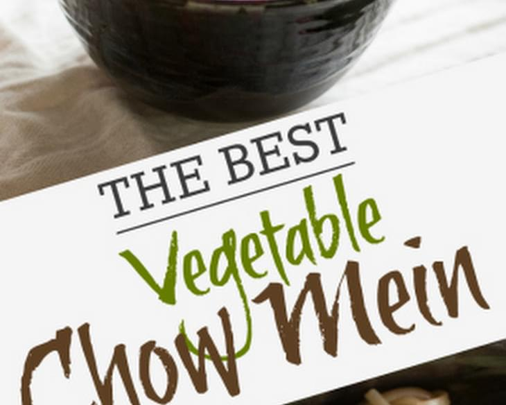 The Best Vegetable Chow Mein