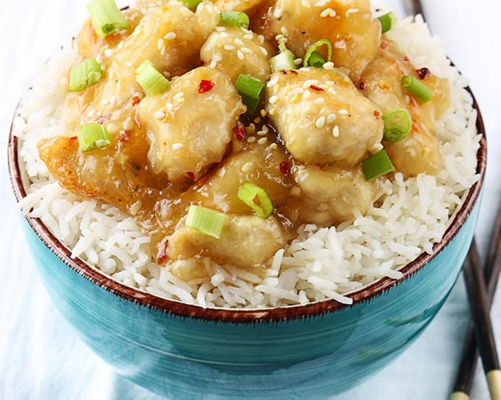 Chinese Honey Garlic Chicken