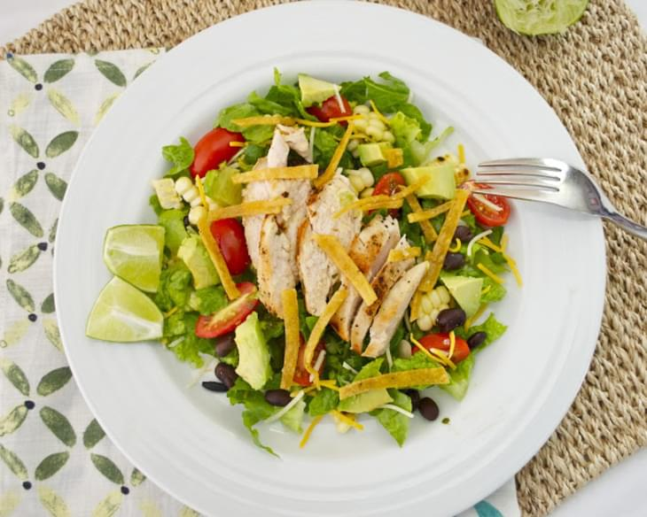 Santa Fe Chicken Salad with Tangy Lime Dressing