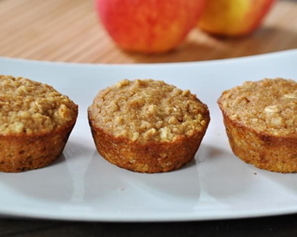 recipe: applesauce-oat muffins [18]