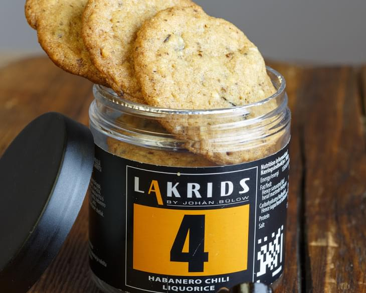Cookies With Habanero Chili Liquorice And Chocolate
