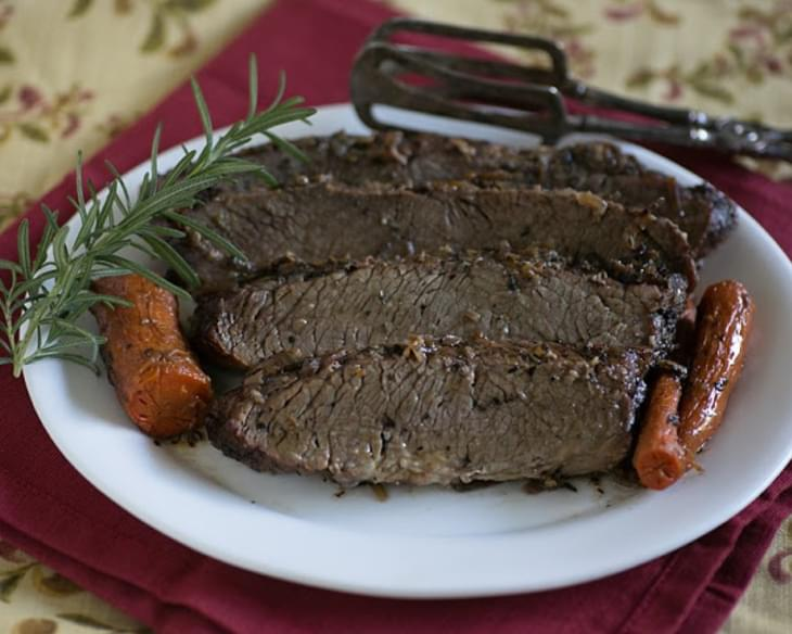 Brisket with Orange Sauce