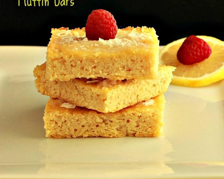 Coconut Lemon Muffin Bars