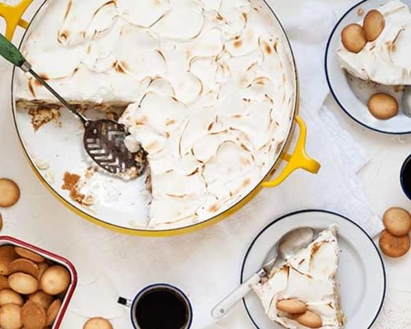 Gluten Free Banana Pudding Pie