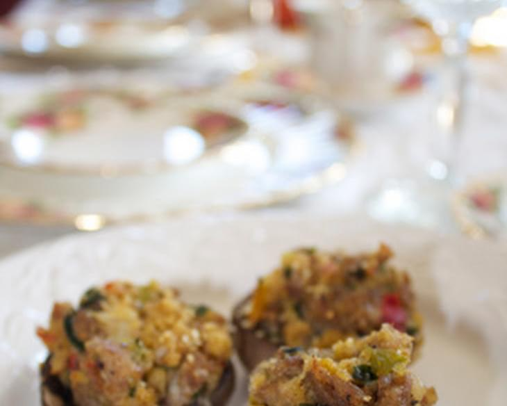 Stuffed Mushrooms, Dairy-Free