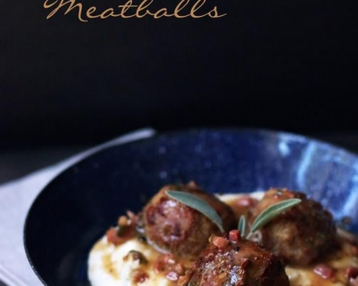 Turkey Saltimbocca Meatballs – Low Carb and Gluten Free