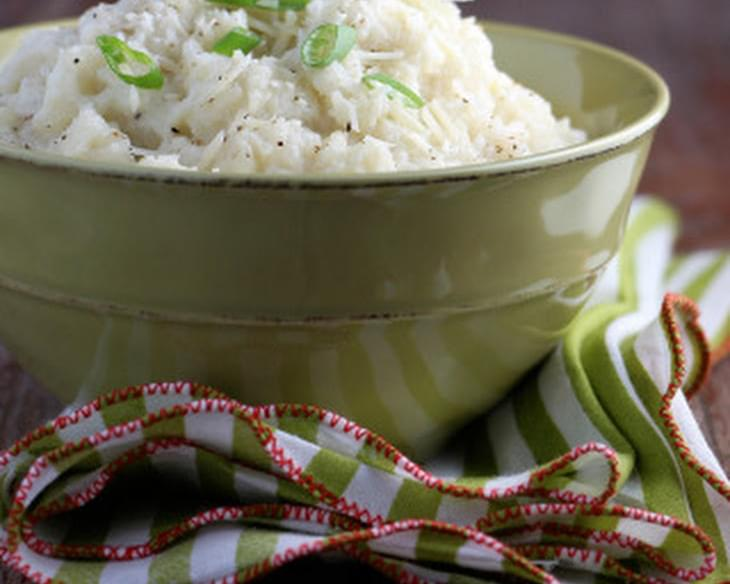 Creamy Mashed Cauliflower Side Dish