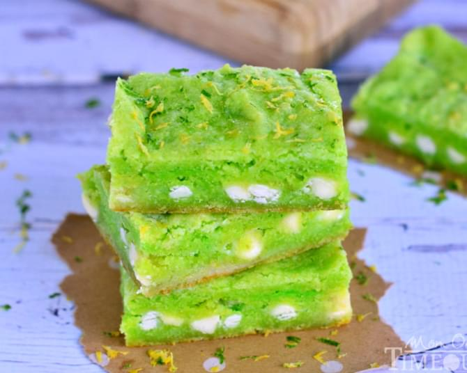 Key Lime Gooey Bars