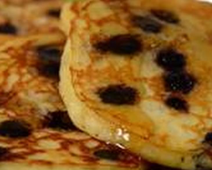 Blueberry Pancakes Recipe & Video
