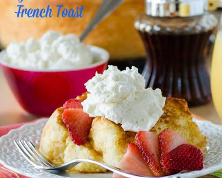 Angel Food Cake French Toast