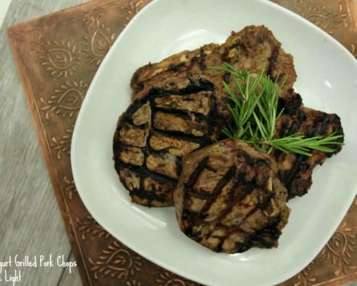 Tahini Yogurt Pork Chops