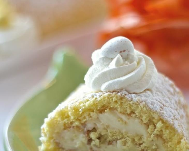 Lemon Mascarpone Roulade