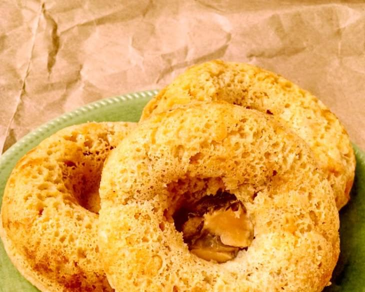 Green Chile & Cheddar Baked Cornbread Doughnuts