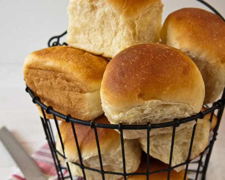 Sweet Hawaiian-Style Rolls for the Bread Machine