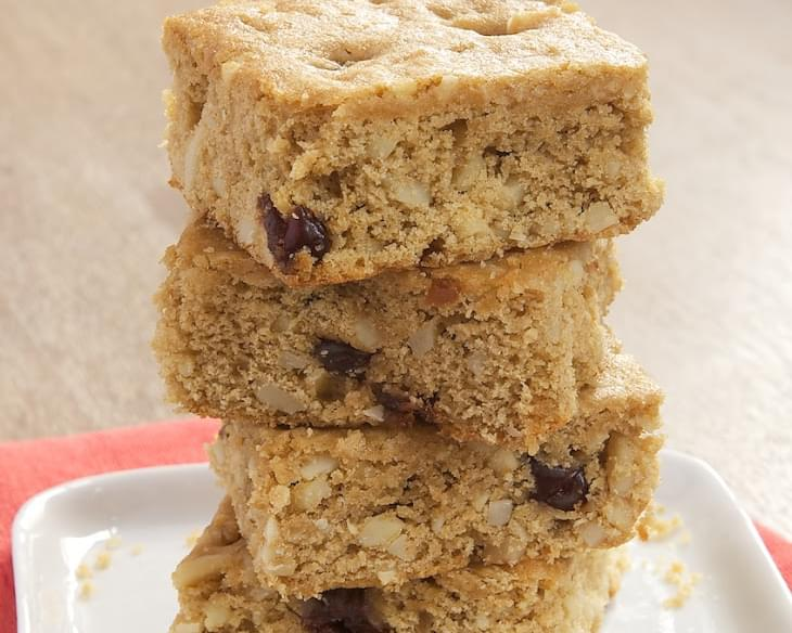 Cherry Almond Blondies
