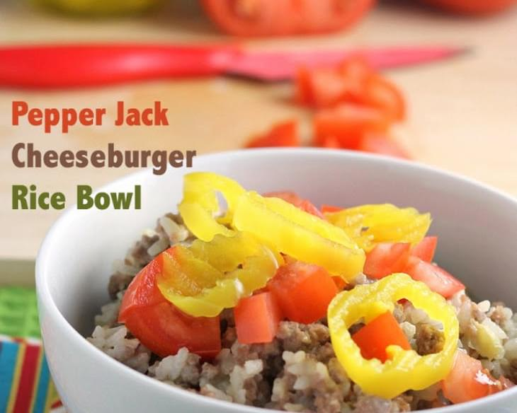 Spicy Cheeseburger Rice