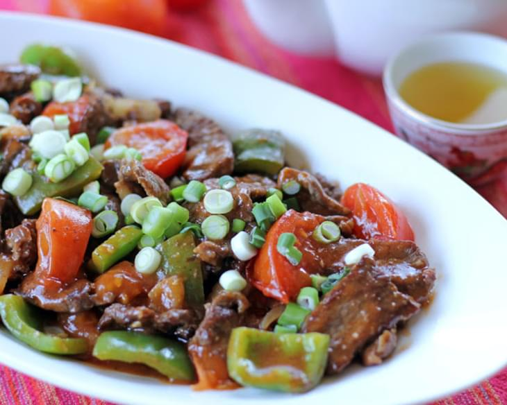 Chinese Beef and Tomatoes