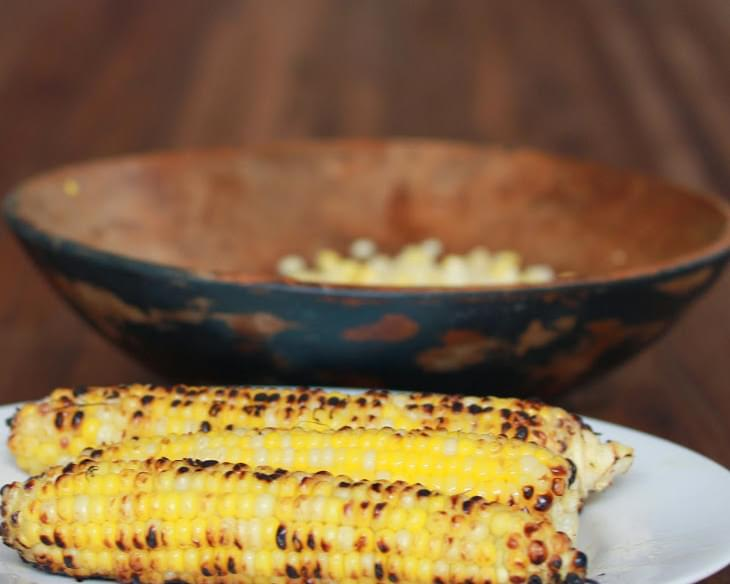 Raw and Grilled Corn Salad