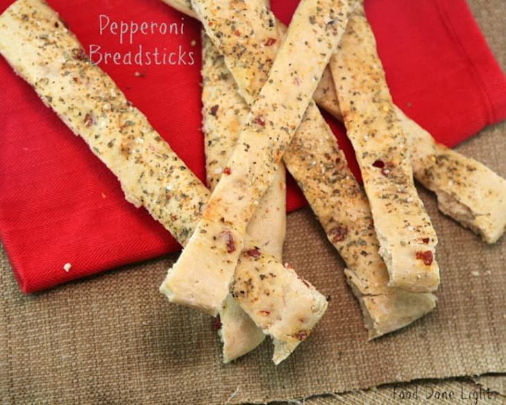 Pepperoni Pizza Breadsticks