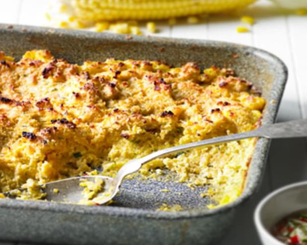 Sweetcorn Spoon Bread