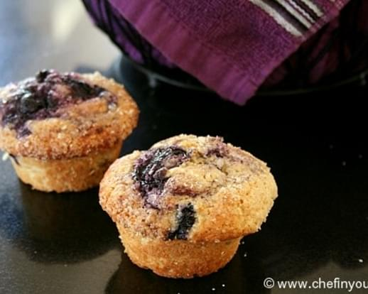 Eggless Blueberry Boy Bait