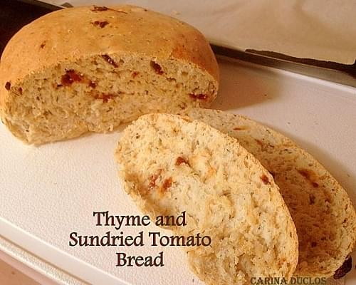 Thyme & Sundried Tomato Bread